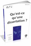 André Leblanc - Qu'est-ce qu'une dissertation ?.