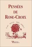 AMORC - Pensées de Rose-Croix.