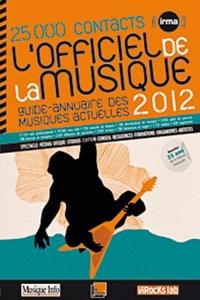 IRMA - L'officiel de la musique 2012.