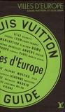 Julien Guerrier et Antoine Besse - Villes d'Europe - Coffret de 9 volumes.