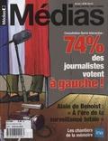 Pierre Veilletet - Médias N° 33, été 2012 : 74 % des journalisres votent à gauche.