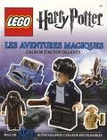 Lego - LEGO Harry Potter : les aventures magiques - L'album d'autocollants.