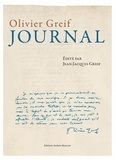 Olivier Greif - Journal.