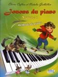 Elvira Caflers et Natalia Godbillon - Jouons du piano - Volume 2, Méthode de piano.