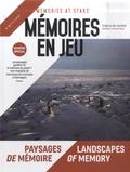 Philippe Mesnard et Luba Jurgenson - Mémoires en jeu N° 11, été 2020 : Paysages de mémoire.