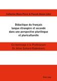 Catherine Blons-Pierre et Pascale Banon - Didactique du français langue étrangère et seconde dans une perspective plurilingue et pluriculturelle.