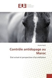 Houda Najmi - Controle antidopage au Maroc - Etat actuel et perspectives d'accreditation.