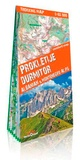 TerraQuest - Prokletije, Durmitor - Albanian & Montenegro Alps - 1/65 000.