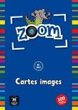 Maison des langues - Les cartes images de Zoom - A1, A2. Avec 100 cartes images.