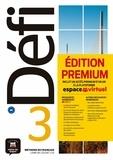 Pascal Biras et Anna Chevrier - Méthode de français Défi 3 B1 - Livre de l'élève. Edition premium : inclut un accès premium d'un an à la plateforme espace virtuel. 1 CD audio