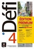 Pascal Biras et Anna Chevrier - Méthode de français Défi 4 B2 - Livre de l'élève. Edition premium : inclut un accès premium d'un an à la plateforme espace virtuel. 1 CD audio