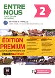 Fatiha Chahi et Catherine Huor - Entre nous 2 A2 tout en un premium - Livre de l'élève + cahier d'activités. 1 CD audio