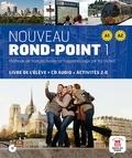 Catherine Flumian et Josiane Labascoule - Nouveau rond-point 1 A1 A2 - Livre de l'élève + CD Audio. 1 CD audio