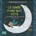 Jennifer Adams et Alison Oliver - Le Songe d'une nuit d'été - Shakespeare pour les petits - Mon premier livre sur les fées et set de jeu (7 plaches en carton avec formes à détacher).