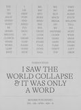 Hassan Khan et Darci Sprengel - I saw the world collapse and it was only a word.