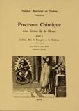 Nicolas Melchior de Szeben - Processus chimique sous forme de la messe.
