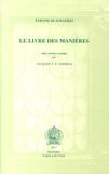 Etienne de Fougères - Le Livre des Manières.