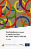 Conseil de l'Europe - Discrimination on grounds of sexual orientation and gender identity in Europe.