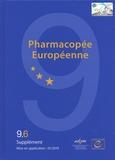 Conseil de l'Europe - Pharmacopée européenne - 3 volumes, Suppléments 9.6, 9.7, 9.8.