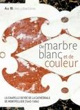 Musée Fabre Montpellier - De marbre blanc et de couleur - La chapelle Deydé de la cathédrale de Montpellier (1643-1684).