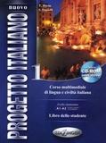 Sandro Magnelli et Telis Marin - Nuovo progetto italiano 1 - Libro dello studente livello elementare. 1 DVD