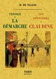 Honoré de Balzac - Théorie de la démarche suivi de Les fantaisies de Claudine.