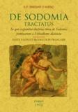 Sinistrari d'Ameno - De Sodomia tractatus.