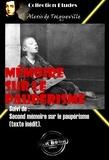 Alexis de Tocqueville - Mémoire sur le paupérisme Suivi de : Second mémoire sur le paupérisme  (texte inédit). - édition intégrale.