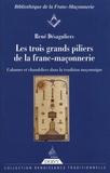 René Desaguliers - Les trois grands piliers de la franc-maçonnerie - Colonnes et chandeliers dans la tradition maçonnique.