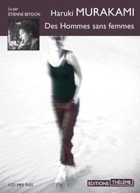 Haruki Murakami - Des hommes sans femmes. 1 CD audio MP3