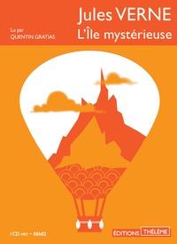 Jules Verne - L'île mystérieuse. 1 CD audio MP3