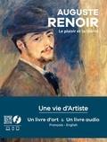 Pascal Bonafoux - Pierre Auguste Renoir - 1 livre audio + 1 livre d'art.