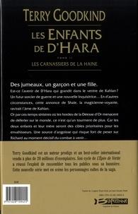 Les enfants de D'Hara Tome 2 Les Carnassiers de la Haine
