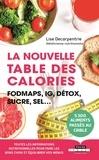 Lise Decarpentrie - La nouvelle table des calories.