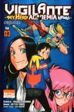 Hideyuki Furuhashi et Betten Court - Vigilante My Hero Academia Illegals Tome 3 : Copine de fac.