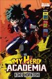 Kohei Horikoshi - My Hero Academia  : Coffret en 3 volumes : Tomes 1 à 3.