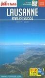 Petit Futé - Petit Futé Lausanne - Riviera suisse. 1 Plan détachable