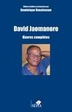 David Jaomanoro - Oeuvres complètes - Poésie, théâtre, nouvelles.