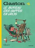 André Franquin et  Jidéhem - Gaston Tome 4 : Le bureau des gaffes en gros.