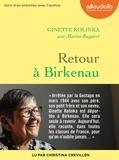 Ginette Kolinka et Marion Ruggieri - Retour à Birkenau - Suivi d'un entretien avec l'autrice. 1 CD audio MP3