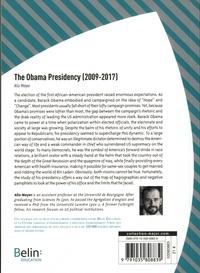 The Obama Presidency (2009-2017)  Edition 2020