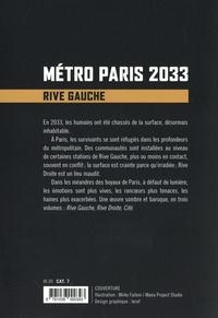 Métro Paris 2033 Tome 1 Rive gauche