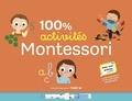 Ma maison Montessori et Marie Paruit - 100% activités Montessori - Avec 1 ardoise, 1 feutre effaçable, 154 autocollants et 32 cartes-mots prédécoupées.