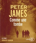 Peter James - Comme une tombe. 1 CD audio MP3