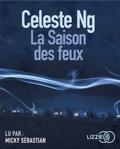 Celeste Ng - La saison des feux. 1 CD audio MP3