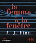 A. J. Finn - La femme à la fenêtre. 1 CD audio MP3