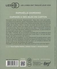 Cupidon a des ailes en carton  avec 1 CD audio MP3
