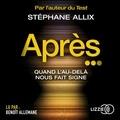 Stéphane Allix - Après....