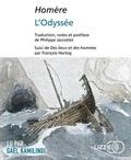 Homère - L'Odyssée - Suivi de Des lieux et des hommes par François Hartog. 2 CD audio MP3