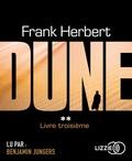 Frank Herbert - Le cycle de Dune Tome 3 : Le prophète. 1 CD audio MP3